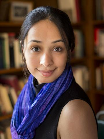 Ayesha Ramachandran, Assistant Professor of Comparative Literature