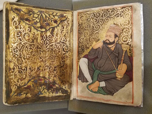 Frontispiece from Turkish MSS suppl. 257, Kitab-i Shahidi, an undated & uncatalogued work.