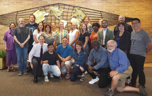 The group of K-12 teachers that participated in the Summer Institute for Teachers.