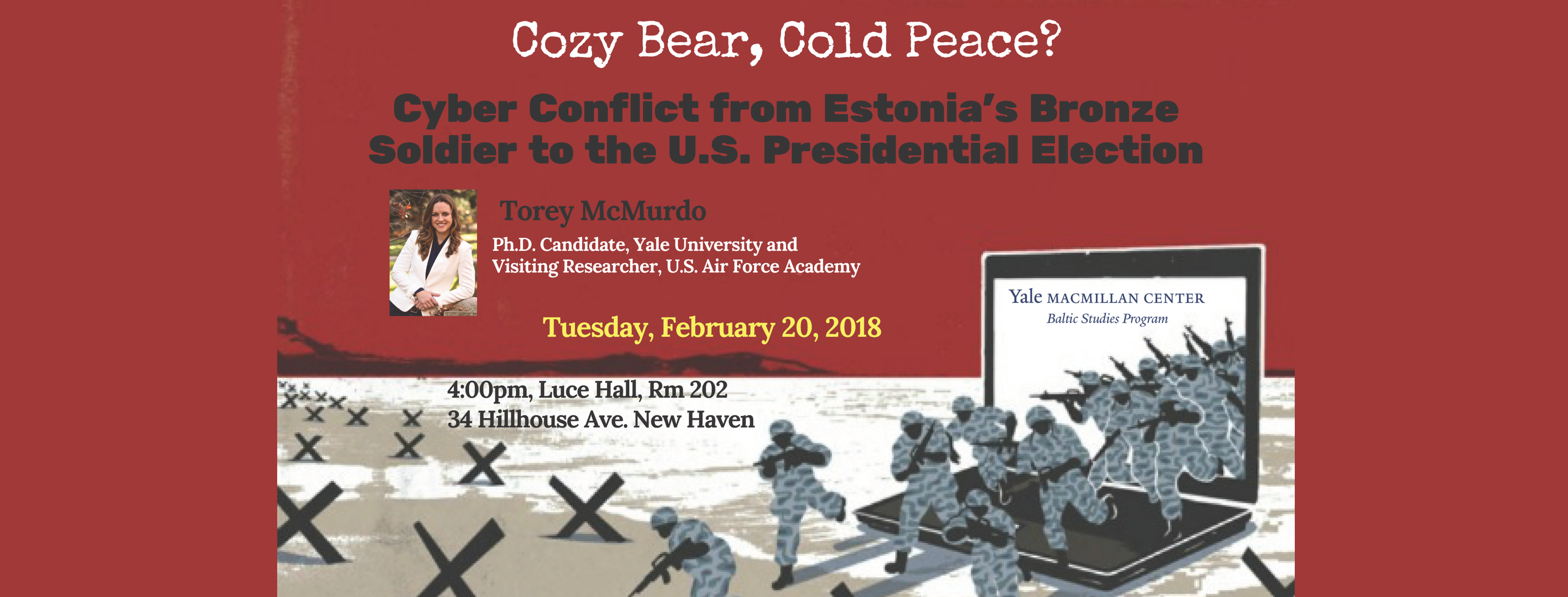 Link to event details for Cozy Bear, Cold Peace