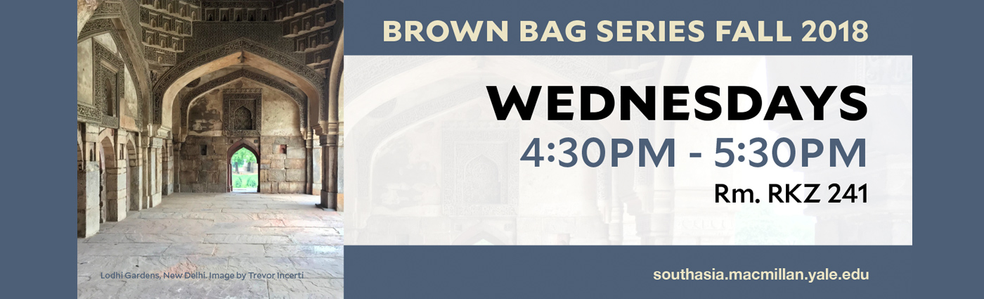 Brown Bag Series Fall 2018