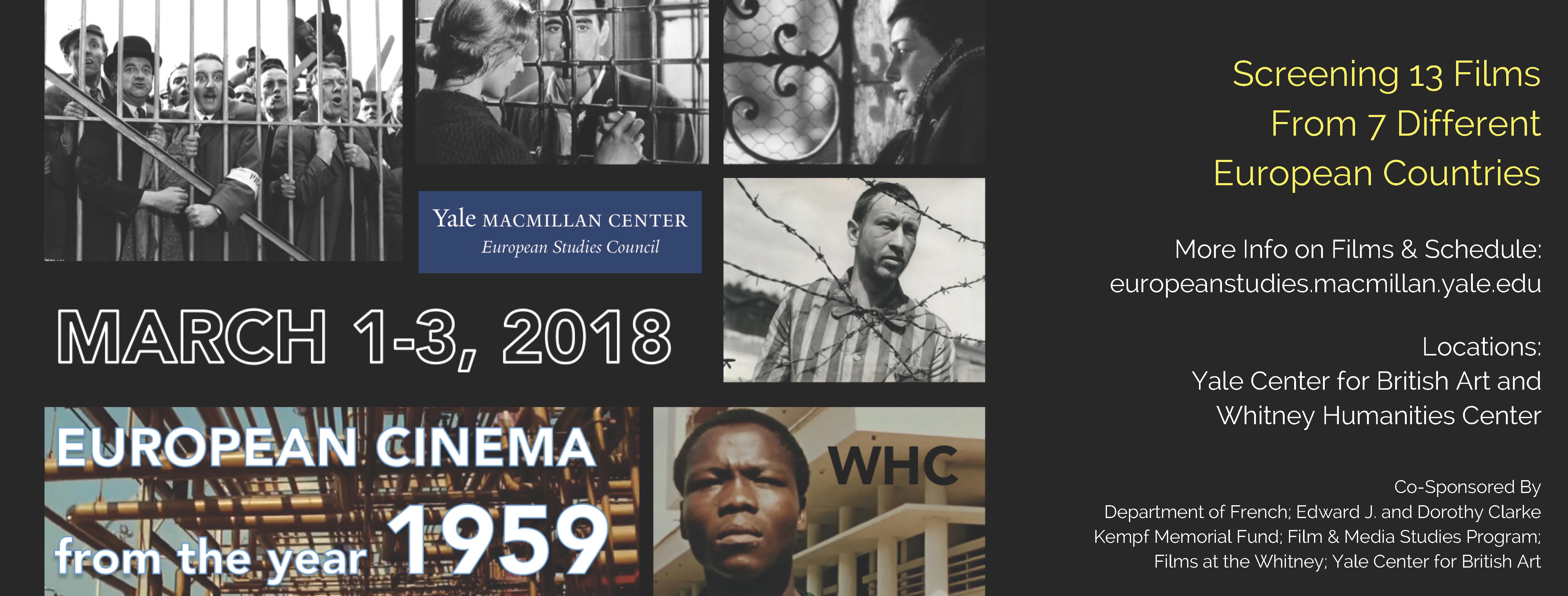 Information for European Cinema event