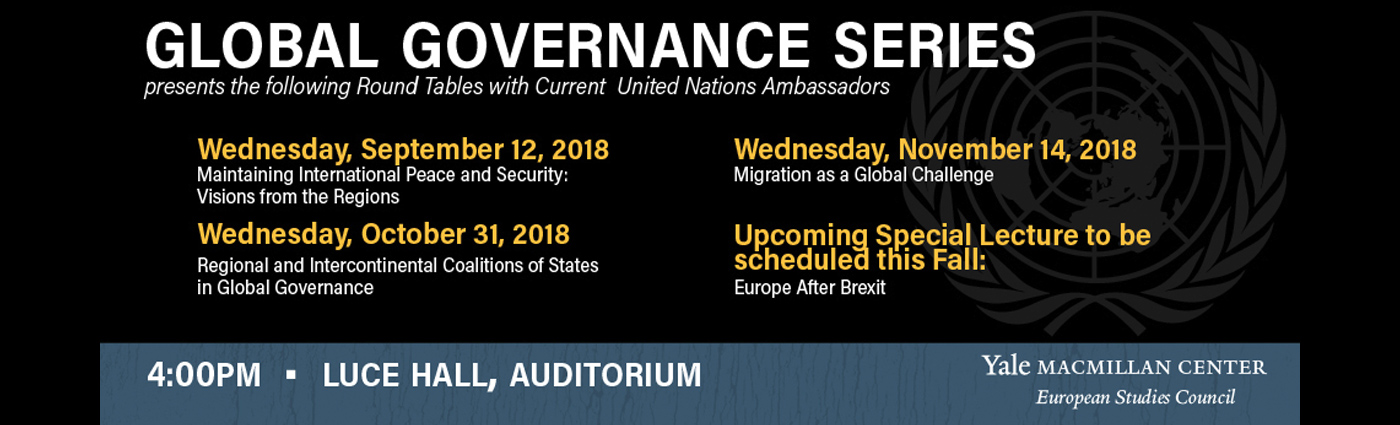 Global Governance Series