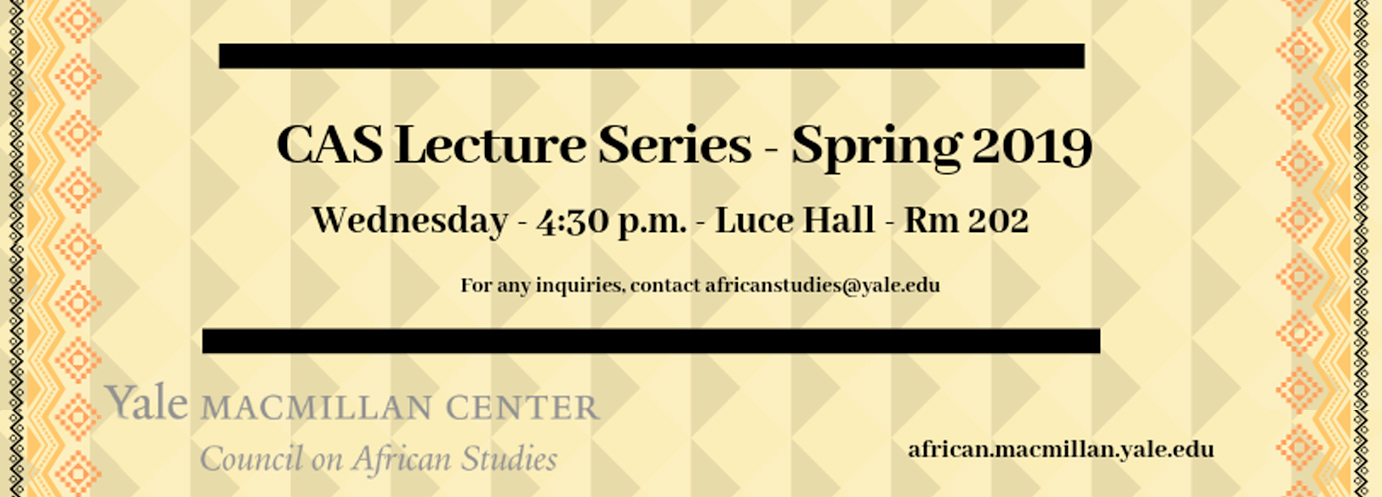 CAS Spring 2019 Lecture Series