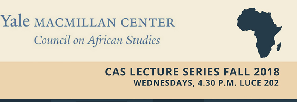 CAS Lecture Series Fall 2018