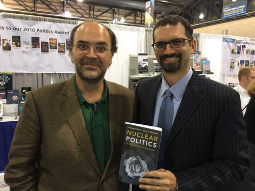 Monteiro (left) with Alexandre Debs. (Courtesy of Alexandre Debs)