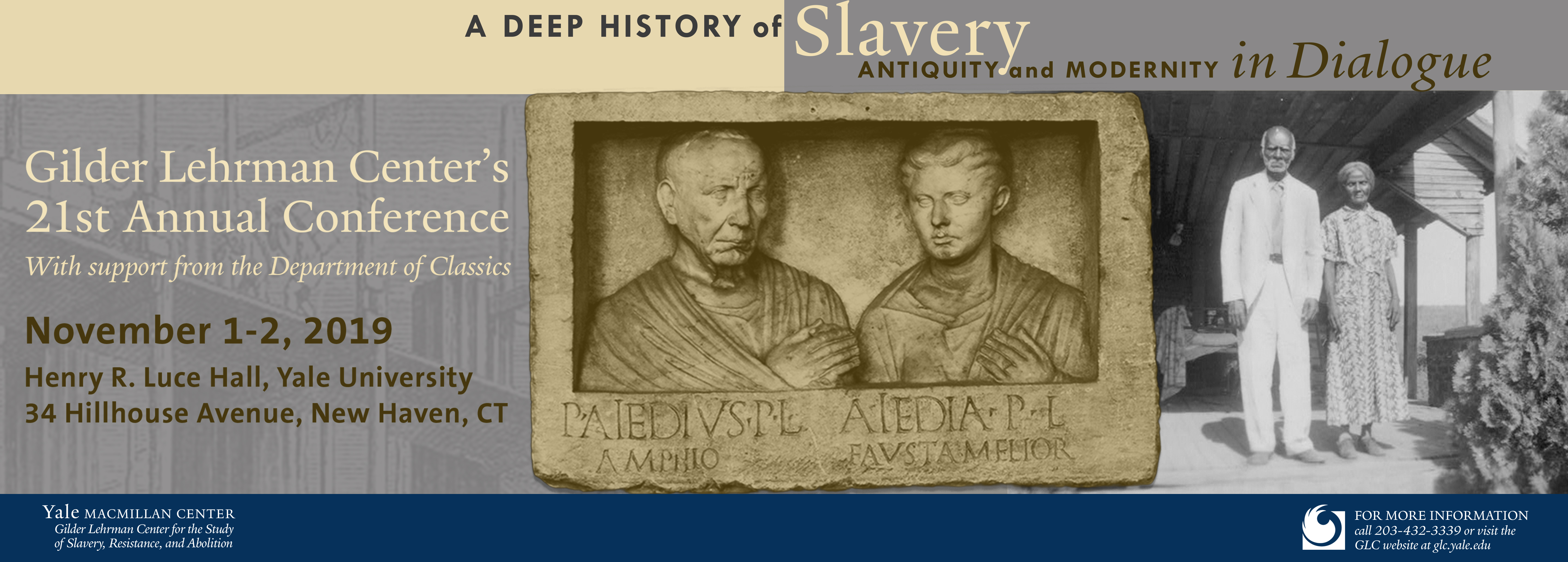 A Deep History of Slavery: Antiquity and Modernity in Dialog