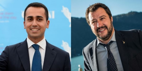 Di Maio and Salvini