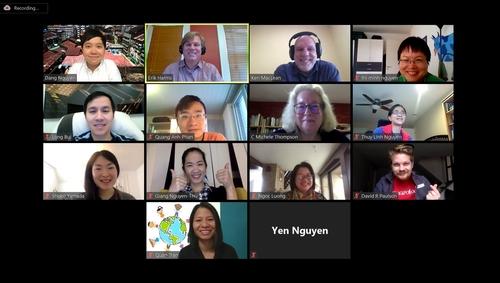Workshop participants around the world.