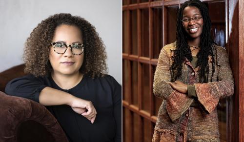 Erica Armstrong Dunbar (left) and Tiya Miles