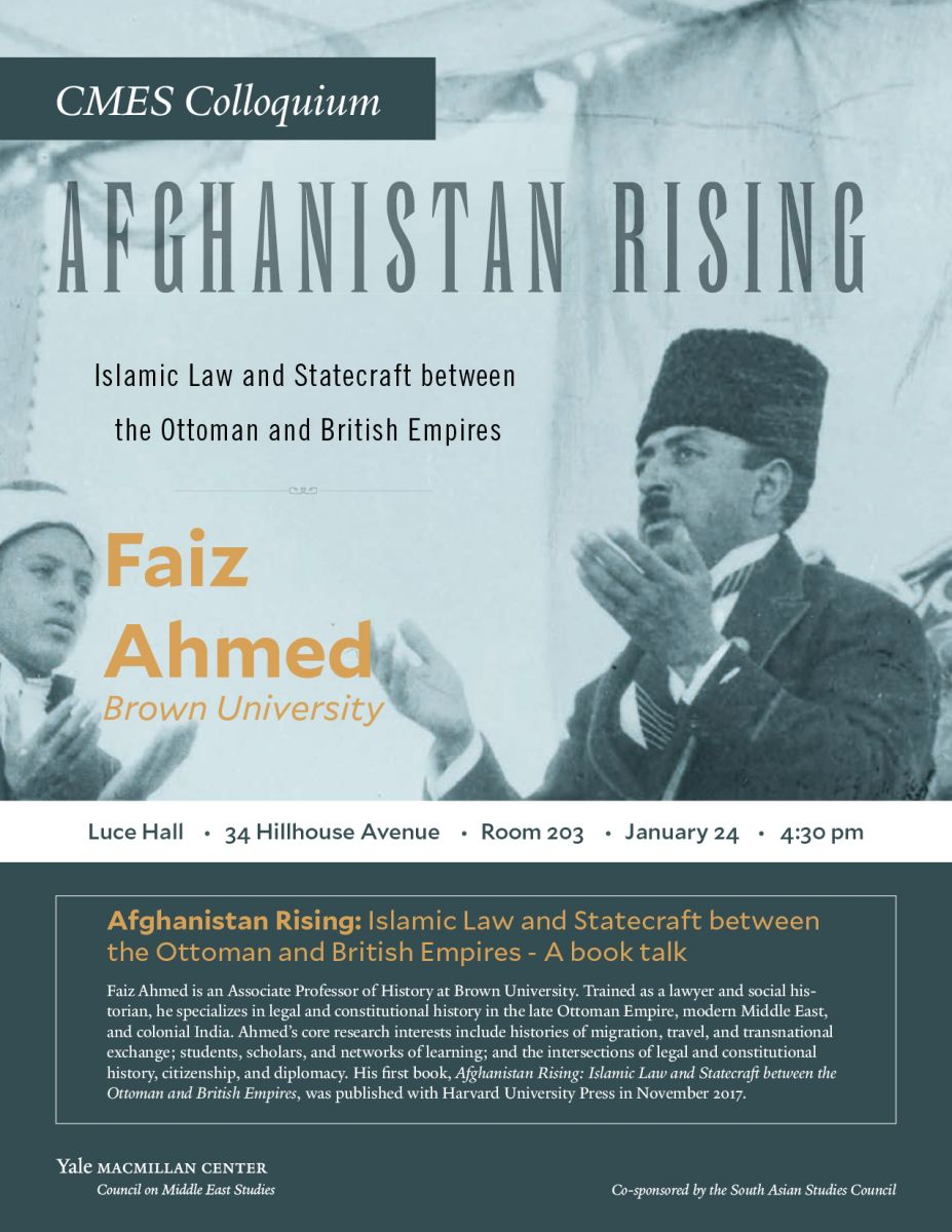 CMES Colloquium: Afghanistan Rising: Islamic Law and
