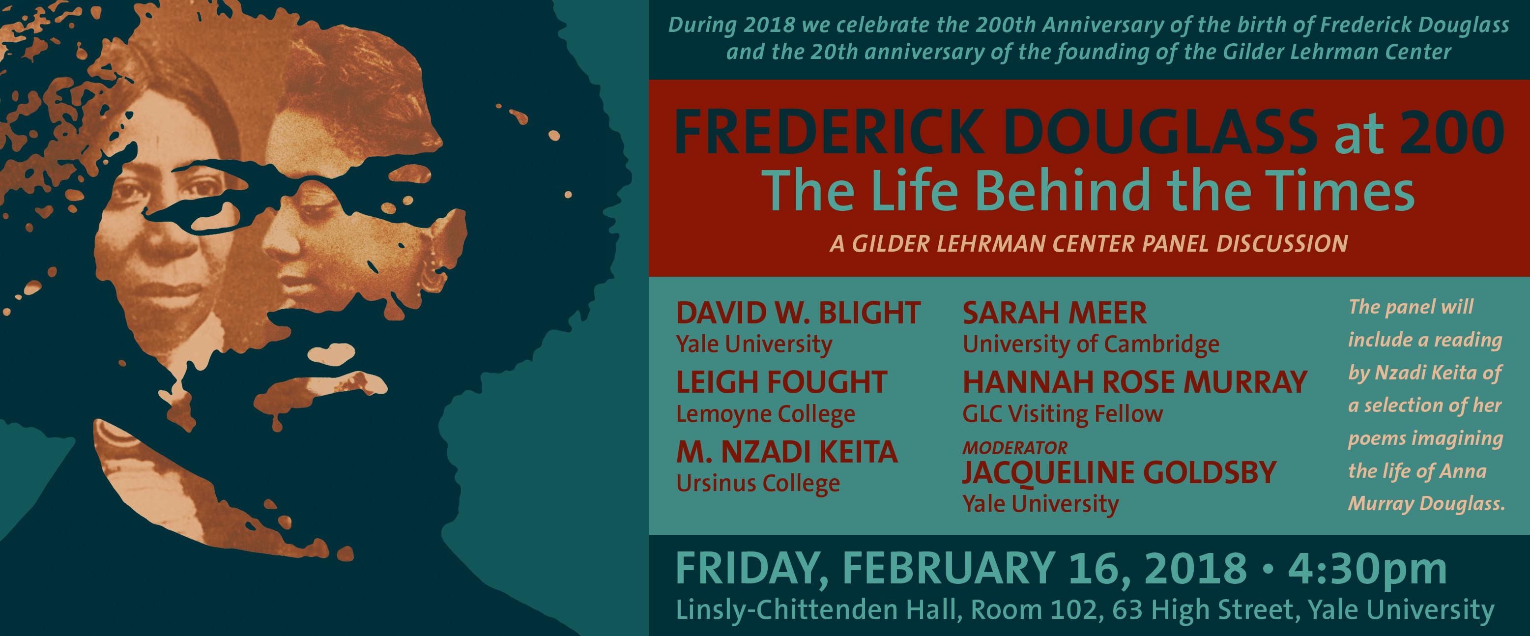 Frederick Douglass Event Banner