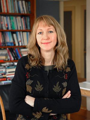 Frances Rosenbluth, the Damon Wells Professor of Political Science. (Photo credit: Michael Marsland)