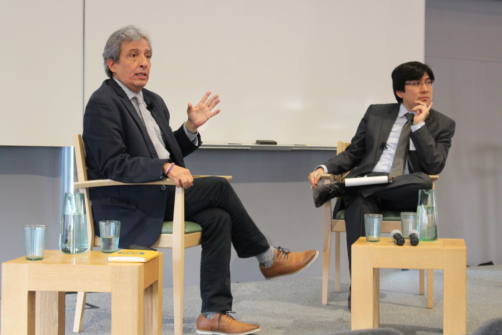 Conversation with a Global Leader   Manuel Pulgar-Vidal, Global Climate and Energy Program Leader at the World Wildlife Fund and former President of the United Nations Climate Change Conference COP20, in a conversation led by Diego Manya (MEM '18).