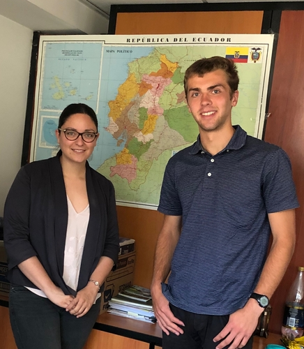 Interview with Stephanie Avalos, Ecuador's Secretary of Climate Change at the Ministry of Environment.