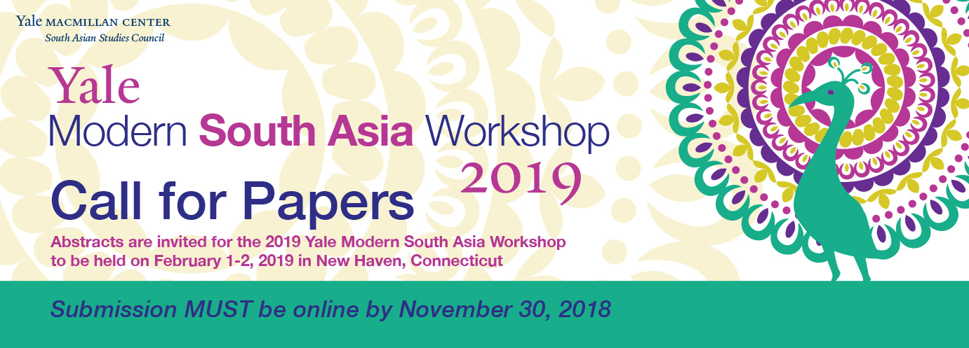 Modern South Asia Workshop