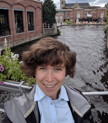 Mireille Pardon, Ph.D. Candidate, History Department, in Bruges, June 2019