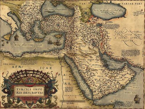 Map of the Ottoman Empire, 1570   Everett Collection Historical, via Alamy