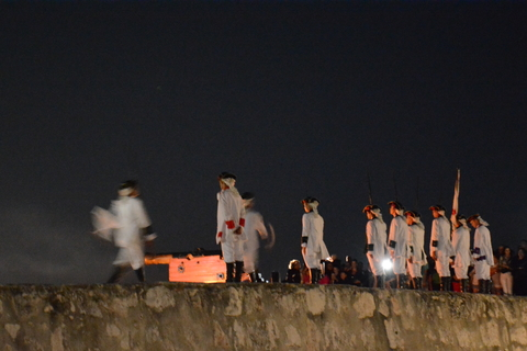 The nightly cañonazo ceremony at the Morro Fort in Havana. (Photo by Daniel Juarez)