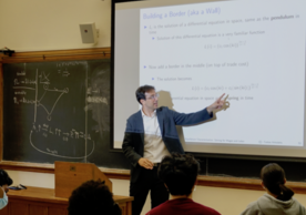 """Arkolakis is teaching a class on """"The Economics of Space"""" (ECON 433) this semester."""