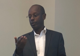 Jean-Damascene Gasanabo, Director of Research and Documentation with the National Commission for the Fight against Genocide (which goes by its French acronym, CNLG)