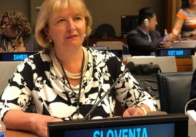 Ambassador Kuret, Permanent Mission of the Republic of Slovenia to the United Nations