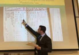Seth Jacobowitz, Assistant Professor of East Asian Languages and Literatures and affiliate faculty of the Department of Spanish and Portuguese, Yale University