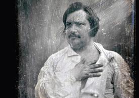 An 1842 daguerréotype of Honoré de Balzac by the photographer Louis-Auguste Bisson (via Wikimedia Commons)