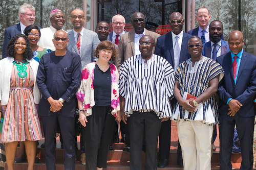 The delegation attending the international conference at The Sanneh Institute.